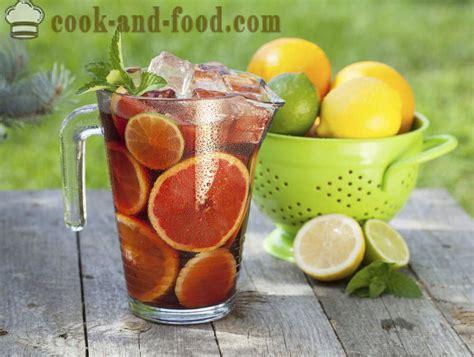 Svaigi svaigi: mandarīns mojito piparmētru un aveņu ...