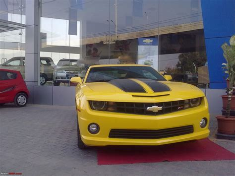 The Chevy Camaro Autobot Edition In India