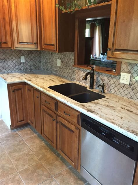 river gold formica countertops  tyvarian tile