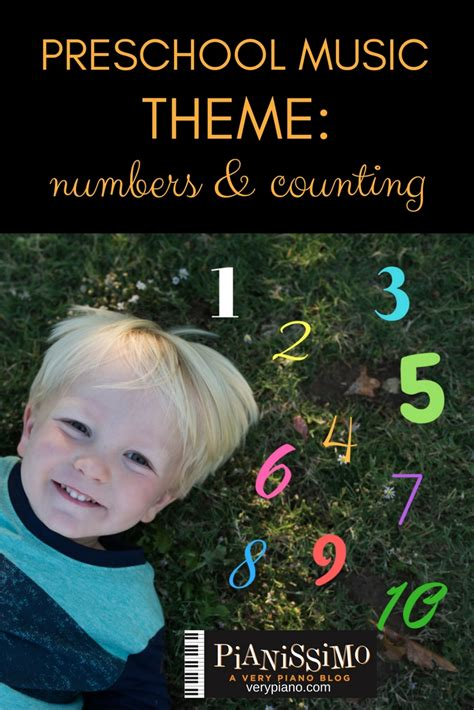 preschool numbers and counting theme pianissimo 807 | PRESCHOOL MUSIC