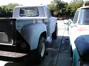Dodge Power Wagon Standard Cab Pickup 1966 White Grey For