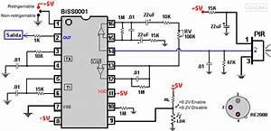 Schema Detecteur De Mouvement : schema construire un d tecteur de mouvement pir capteurs ~ Melissatoandfro.com Idées de Décoration