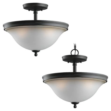 collection seabrook 2 light semi flushmount 7