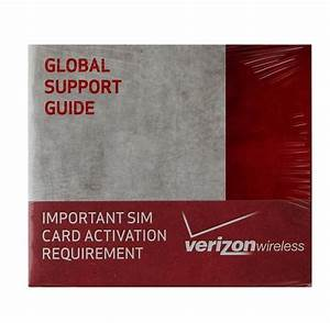 Oem Verizon Global Support Sim Card Activation Requirement