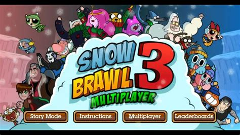 Snow Brawl Fight 3- Cartoon Network Games