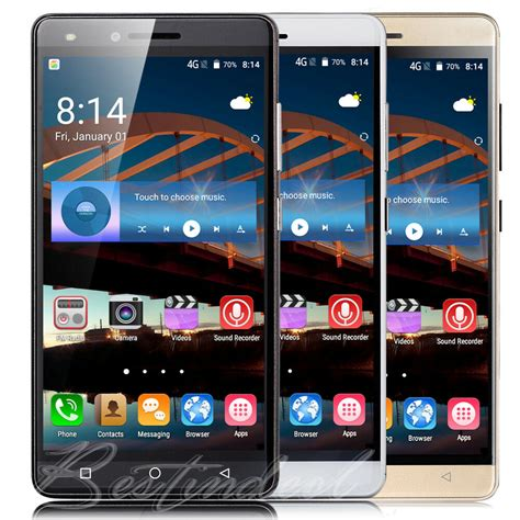 smartphone android 6 unlocked 5 quot android 6 0 talk t mobile at t smartphone cell phone 3g gsm ebay