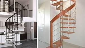 Escalier Colimaçon Beton : dossier l 39 escalier en kit ~ Melissatoandfro.com Idées de Décoration