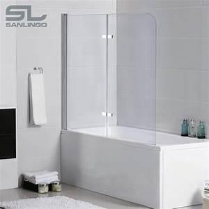 Badewanne Mit Glas : 2teilige glas badewanne aufsatz faltwand duschwand ~ Michelbontemps.com Haus und Dekorationen