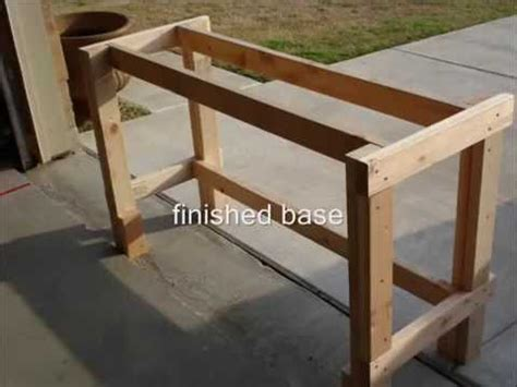 build  wooden workbench youtube