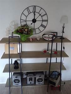 Style Industriel Ikea : fabriquer des tag res style industriel partir d tag res ikea lerberg d tournement de ~ Teatrodelosmanantiales.com Idées de Décoration