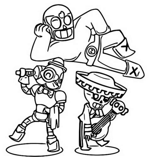 disegni da colorare dei personaggi di brawl disegni di brawl da colorare sta gratuitamente