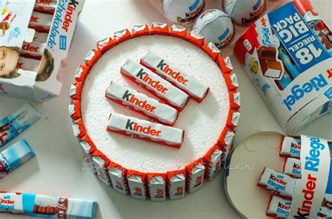 torte aus kinderschokolade diy torte aus kinder schokolade inspirationen