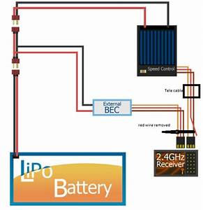 Wiring Up Telemetry With Separate Bec  How