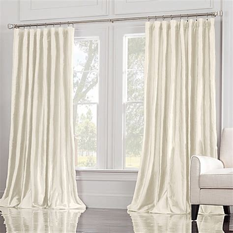108 inch drapery panels buy valeron estate 108 inch window curtain panel in ivory