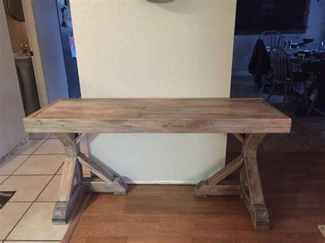 diy desk for 70 faux restoration hardware finish shanty 2 chic