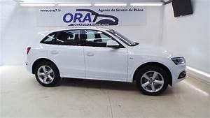 Audi Q5 Blanc : audi q5 2 0 tdi 190 clean diesel s line quattro s tronic7 occasion lyon s r zin rh ne ora7 ~ Gottalentnigeria.com Avis de Voitures