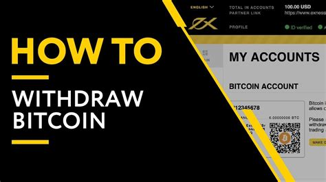 Miners are securing the network and confirming bitcoin transactions. How To Make A Bitcoin Withdrawal   Exness - YouTube