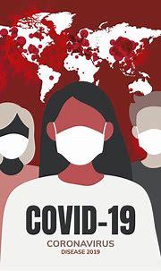 Covid-19 coronavirus disease 2019 poster template vector ...