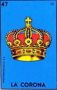 Old School Tattoo Crown Art LA CORONA Loteria Print 5 x 7, 8 x 10 or 11 x 14