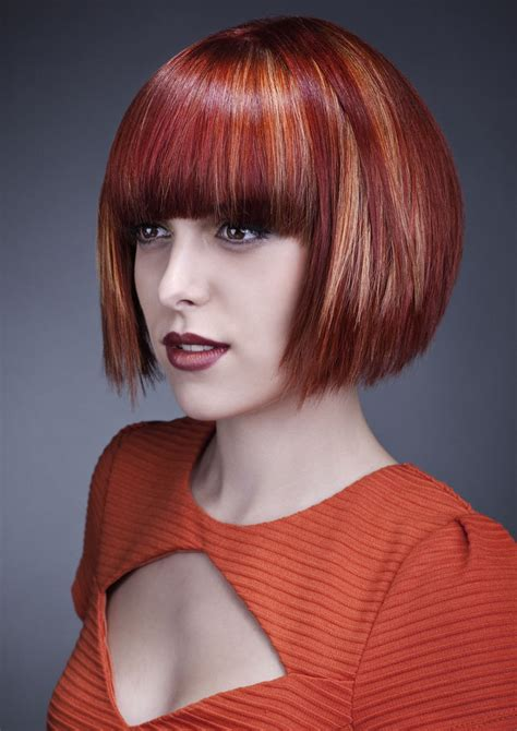 Classic Bob With Bangs Hairstyles Hair Photo