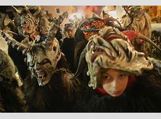 Krampus the Christmas Devil Is Coming to More Towns So
