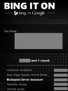 Four marketing lessons from Microsoft's Bing it On