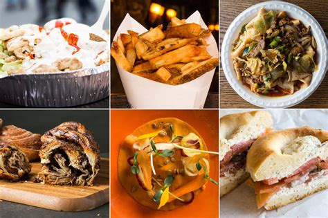 here are some cities where you can find food in the