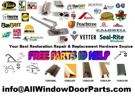 california window door parts direct caradco craftline pella alenco therma tru eagle