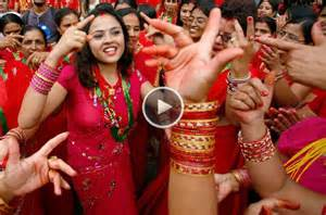 Women Hindu Festivals