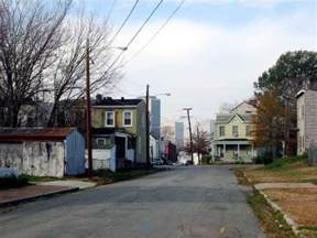 richmond va in the union hill neighborhood east of downtown photo picture image virginia
