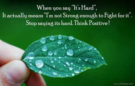 """When You Say Nothing At All: When You Say """"It's Hard"""", It Actually Means """"I'm Not"""