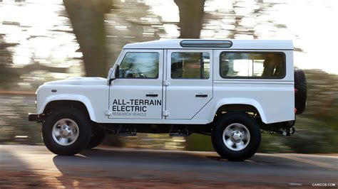 2018 Land Rover Electric Defender Concept Side Hd