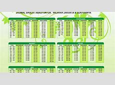 Jadwal Sholat Image collections Card Design And Card