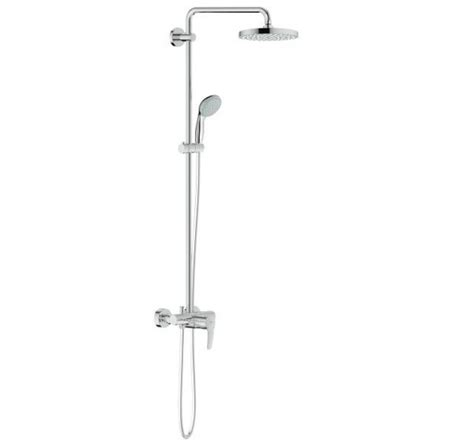 luxury kitchen faucet grohe 26244000 tempesta cosmopolitan 200 shower system
