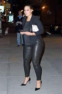 Ashley Graham Leather Pants