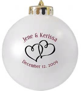 wedding favor ornaments wedding favors ornaments custom printed