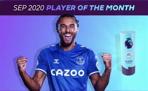 (Video) In-form Everton star wins Premier League's ...