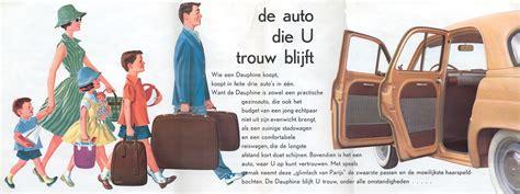 1961 Renault Dauphine brochure