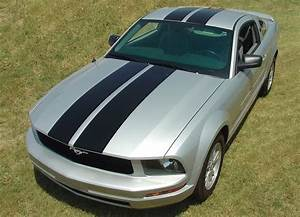 2005-2009 Ford Mustang Decals WILDSTANG RACING Stripes Vinyl Graphics | Auto Motor Stripes ...