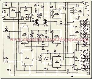 Simple Reaction Timer Circuit Diagram