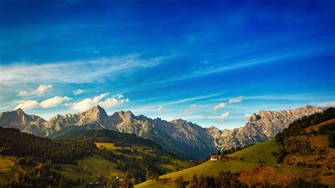 beautiful mountain view  stock photo negativespace