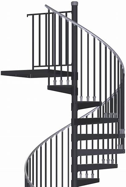 Spiral Stair Staircase Kits Indoor Stairs Kit