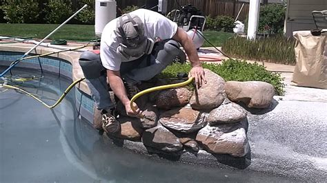 pool tile cleaning medford calcium removed from rocks