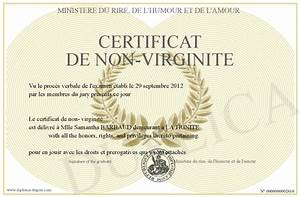Certification De Non Gage : certificat de non virginite ~ Maxctalentgroup.com Avis de Voitures