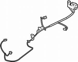 Kia Spectra Hvac System Wiring Harness  W  O Ac  Heater