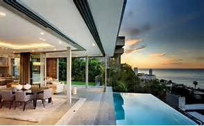 Beautiful Home Design With Modern Vintage Interior Ocean View Maison Design Et Luxe En Afrique Du Sud Archiboom L Architecture