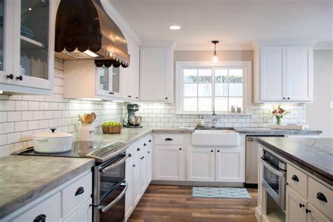 kitchen makeover ideas  fixer upper hgtvs fixer