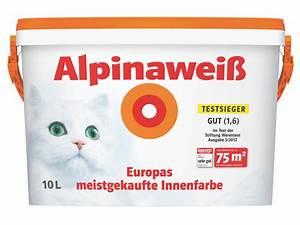 Alpina Wandfarbe Weiß : alpinawei alpina wei matt perfekt deckende real ~ Articles-book.com Haus und Dekorationen
