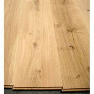 parquet massif en chene sans chanfrein 20x140 rustique With parquet chanfreiné