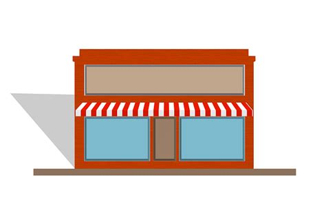 awning store front  vector graphic  pixabay